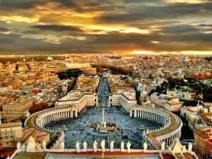 ville de Rome italie